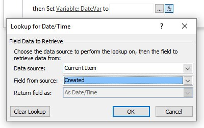 Set Date Value To Field Value SharePoint
