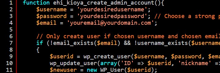 Hacking A WordPress Password